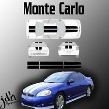 Chevy Monte Carlo Rally Racing Stripes Vinyl Decal Graphics Kit SS Car Sticker