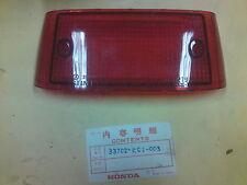 Honda CB125T, REAR LIGHT LENS NOS, OEM. 33702-KC1-003