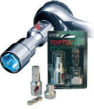 Toptul 3/8 Drive LED Light Extension Socket Adaptor RBAR0203 Lamp