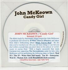 (GU139) John McKeown, Candy Girl - 2010 DJ CD