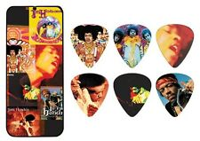 Jimi Hendrix Guitar Picks Collectible Frontline Montage with Picks Dunlop