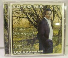 Yo-Yo Ma, Ton Koopman - Simply Baroque II CD ! Bach & Boccherini NM