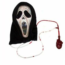 Scream Ghostface pompaggio del sangue Fx Halloween Fancy Dress Maschera p7877