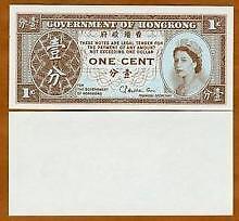 Hong Kong 1 Cent (UNC)