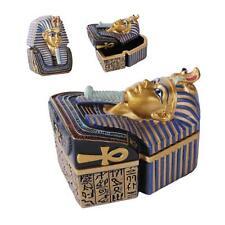 EGYPTIAN PHAROAH KING TUT TRINKET BOX
