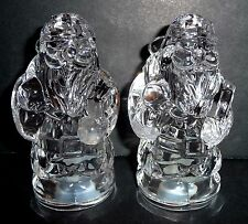 Crystal Santa Claus Christmas Salt & Pepper Set
