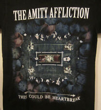 THE AMITY AFFLICTION  T Shirt Licensed Merchandise  X-LARGE