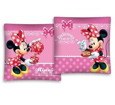 LICENSED Disney MINNIE Mouse DELICIOUS TREATS cushion cover 40x40cm 100% COTTON