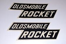1957 – 1958 Oldsmobile Rocket Valve Cover Decals NOS Set of (2) Two