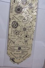Nuclear Physics on cream Tie