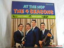THE FOUR SEASONS-(LP)-AT THE HOP W/CHARLIE FRANCIS, BARBARA BROWN & THE BUGGS