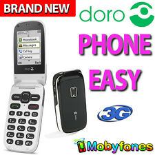 SENIORS UNLOCKED DORO PHONE EASY 623 3G CAMERA EASY TO USE BIG KEYS BUTTONS FLIP