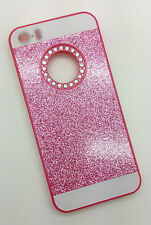 IPHONE 6 PHONE CASE RHINESTONE BLING PRESENT GIFT PINK GLITTER