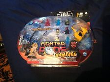star wars fighter pods rampage battle game naboo starfighter brand new sealed