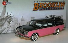 Brooklin BRK 142A, 1957 Rambler Cross Country Station Wagon, gray/peach, 1/43