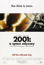 2001 A SPACE ODYSSEY MOVIE POSTER 2 Sided R2001 ORIGINAL 27x40 STANLEY KUBRICK