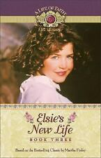 Elsie's New Life (Life of Faith, A: Elsie Dinsmore Series)-ExLibrary