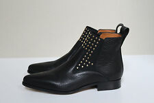 New sz 9.5 / 39.5 Chloe Studded Black Leather Chelsea Ankle Boot Shoes