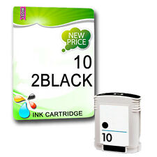 2 Black Compatible Ink Cartridge replace for Designjet 500 Plus 500ps 500ps Plus