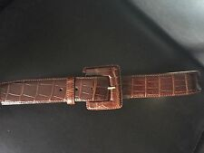 Sold Out Light Brown Genuine Alligator Belt