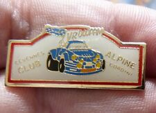 RARE PIN'S ALPINE RENAULT A 110 BERLINETTE CLUB CEVENNES ALPINE GORDINI