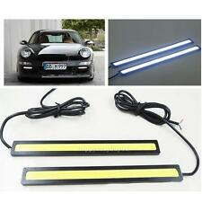 2pcs Waterproof DC 12V LED COB Car Driving Daytime Running Lamp Fog Bar Light