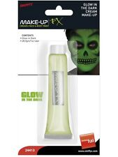 Glow In The Dark Cream Make Up In Tube Smiffy's FX - Halloween 1oz Tube