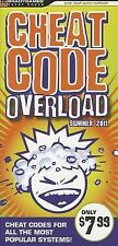 Ps3 Xb3 Wii Psp Cheat Code - Cheat Code Overload Summer 201 (2011) - New -