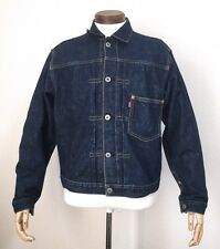 LEVIS 506 XX Indigo Blue Denim Jacket Vintage 40 Big E Japan Made Reproduction