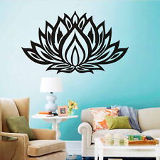 LOTUS Quote Wall Vinyl Sticker Flower Quote Room Removable Decal Home Mural