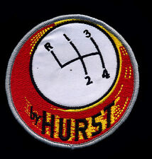 Hurst Patch Floor Shifter Hot Rod Muscle Car Mechanic