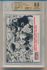 1990 Pro Set Photo Contest (Todd Bowles Covering Chris Carter) (#798) BGS9.5 BGS