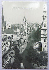 CPA Postcard - UK - London, Law Courts and strand