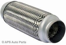 "50 x 300 mm 2 x 12 "" Inch Exhaust Flexible Flexi Flexy Flex Joint Pipe Repair"
