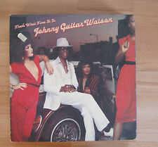 That's What Time It Is (1981) - Johnny Guitar Watson - Vinyl LP