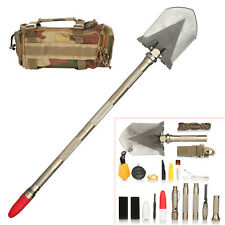Outdoor Shovel Multifunction Folding Compact for Camping Hiking Emergency Rescue