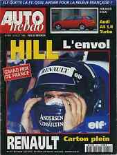 AUTO HEBDO n°1041 du 03/07/1996 GP FRANCE AUDI A3 1.8T FR AILEF 696