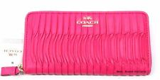 COACH - Madison Gathered Leather Accordion Zip Wallet 53982E Pink - NWT!