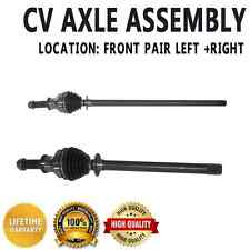 Front CV Joint Axle Shaft Pair Set For LAND ROVER DISCOVERY 2000-2004