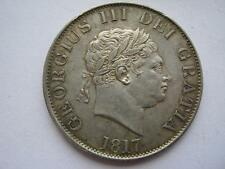 1817 George III Small head Half Crown, GVF/VF. ESC 618.