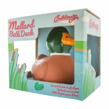 Funny Novelty Mallard Bath Duck Rubber Duck - Gift Boxed Stocking Filler