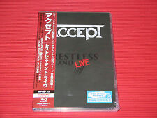ACCEPT Restless and Live 2015 Blind Rage Tour   JAPAN BLU-RAY + 2 CD SET