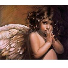 Beautiful Angel Wings Gril Paint By Number Kit Home Wall Decor Canvas DIY Craft