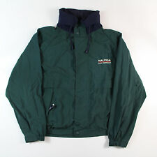 VTG 90S NAUTICA Ocean Sportsman SAILING BIG LOGO JACKET J-CLASS Green XL C41
