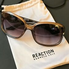 Kenneth Cole Reaction Women's Plastic Oversize Butterfly Sunglasses KC1232 NWT