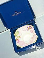PRETTY PINK VILLEROY & BOCH ROSE COTTAGE TEALIGHT CANDLE HOLDER 12cm WIDE