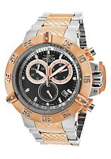 INVICTA SUBAQUA NOMA III 15951-Men's Silver & Gold Stainless Steel ChronoWatch