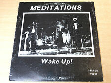 The Meditations/Wake Up/1977 Sonic Sounds LP/Dobby Dobson