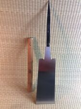 Vintage Ryoba Noko Double Bladed Saw Ripsaw Crosscut Japanese Saw 245mm TORYOKU