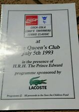 Lord Taverners Tennis Classic at Queens Club on 5th July, 1993